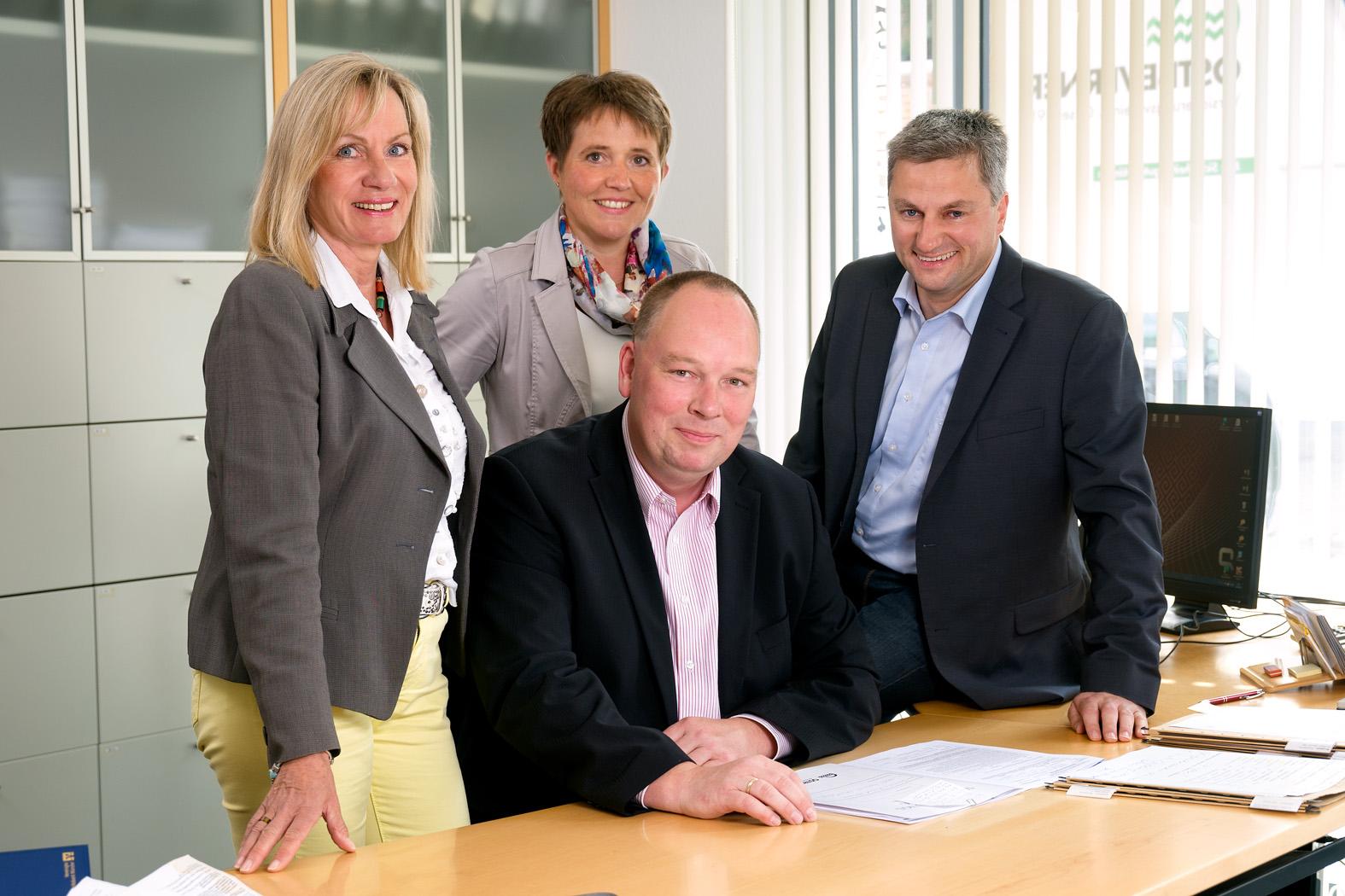 unser Team beim OSTBEVERNER Versicherungsverein